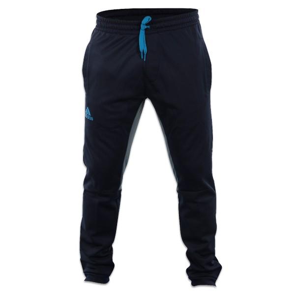 Adidas Warm up Pant blau / grau