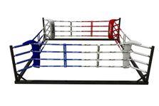 4Fighter Floor Ring 6x6 Meter 4 Seile / Boxring / Bodenring / Trainingsring 001