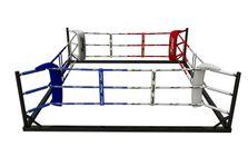 4Fighter Floor Ring 6x6 Meter 3 Seile / Boxring / Bodenring / Trainingsring 001