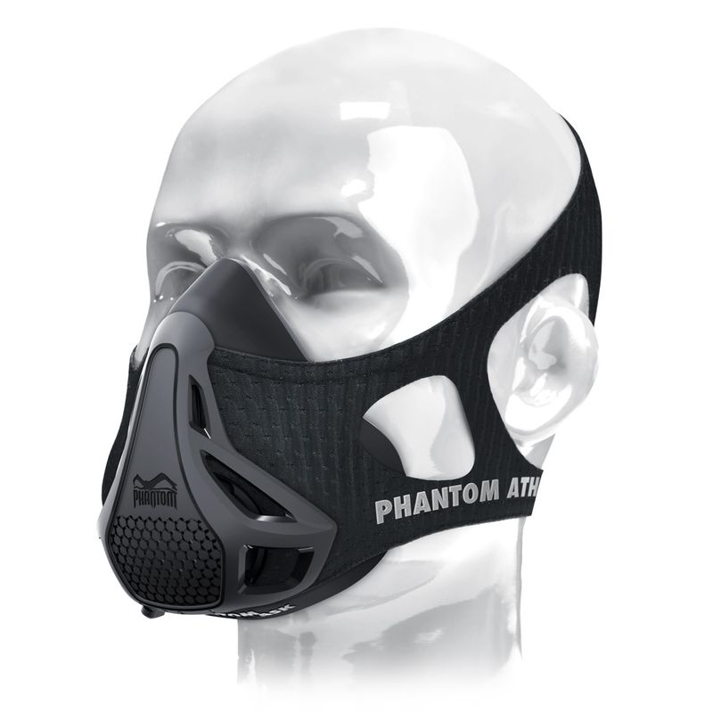 Phantom Training Mask - Phantom Athletics Trainingsmaske schwarz S, M, L – Bild 1