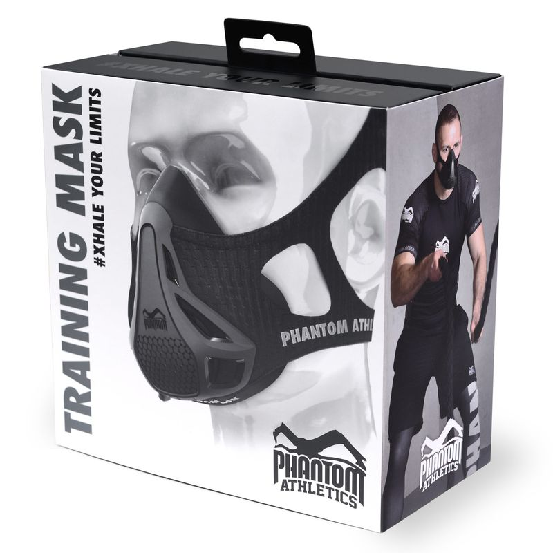 Phantom Training Mask - Phantom Athletics Trainingsmaske schwarz S, M, L – Bild 3
