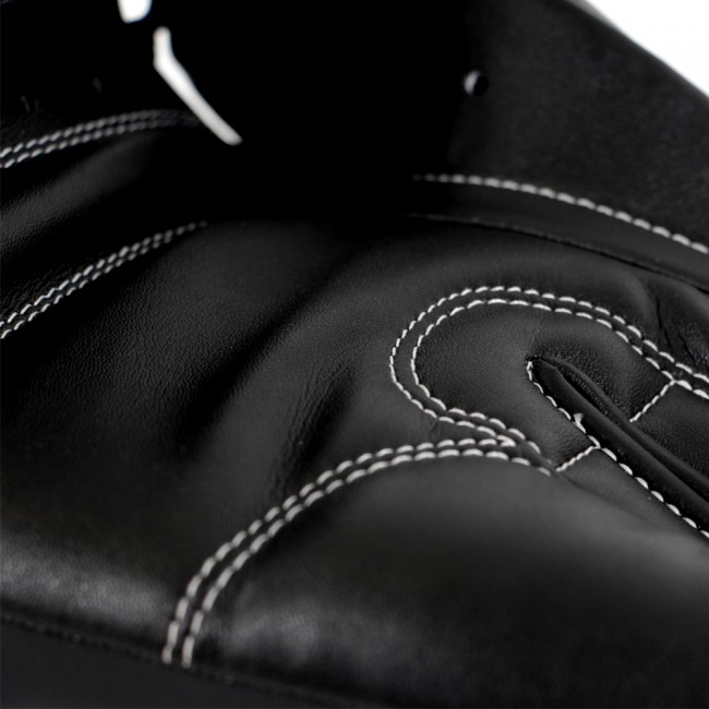 Adidas Performer Boxing gloves made of calf leather in black / white – image 7