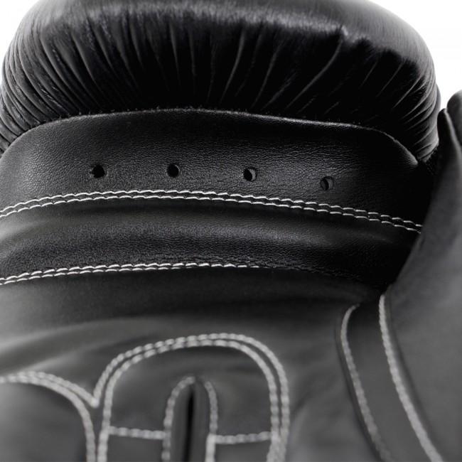 Adidas Performer Boxhandschuhe aus Kalbsleder in schwarz/weiß – Bild 4