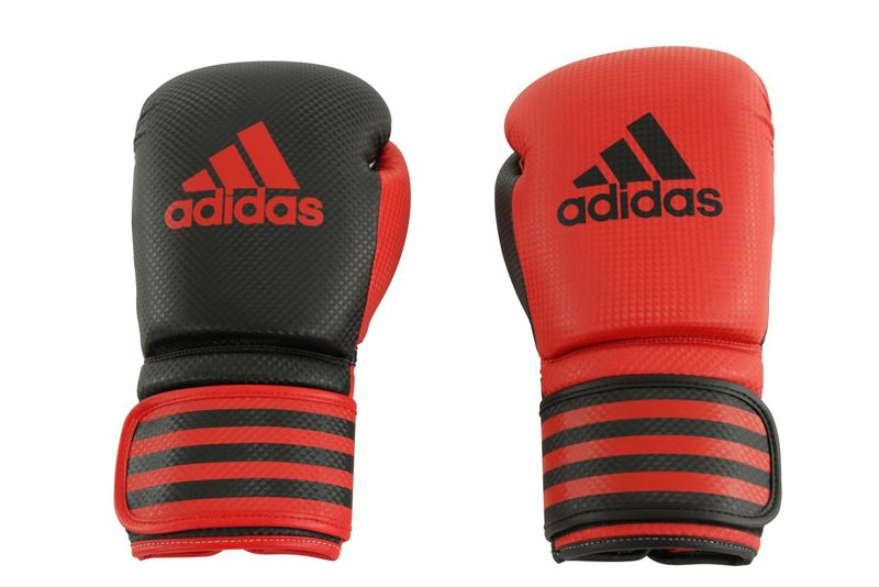 Adidas Power 200 Duo Boxing Gloves red / black – image 2