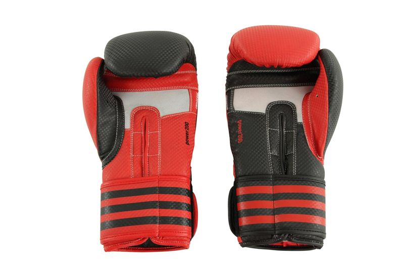 Adidas Power 200 Duo Boxing Gloves red / black – image 3