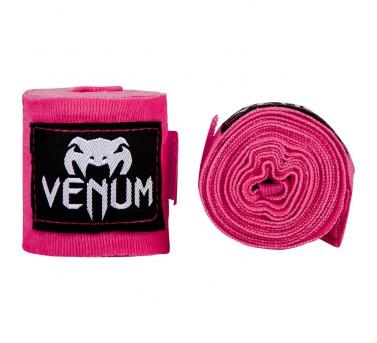Venum Boxbandagen Hand Bandagen 250cm elastisch - neon pink – Bild 2