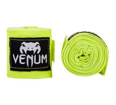 Venum Boxbandagen Hand Bandagen 250cm elastisch - neon gelb – Bild 2