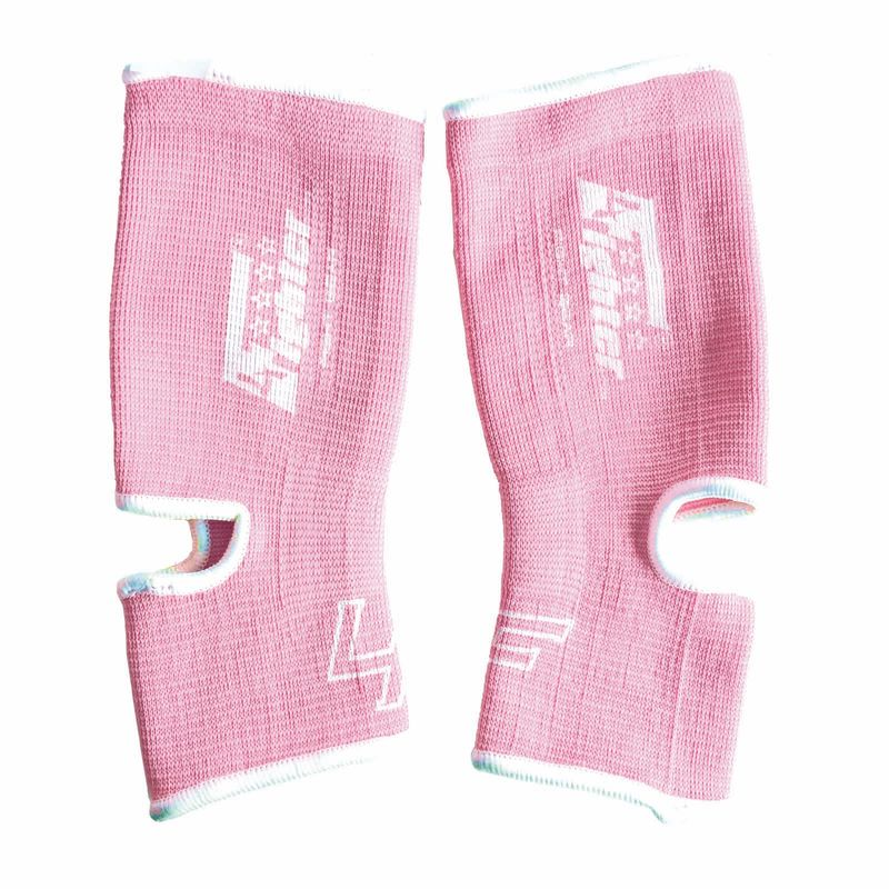 4FIGHTER ankle guards / ankle support light pink/white / rosa – image 1