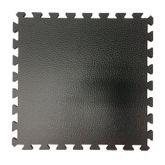 4Fighter Stone Mat Profi Bodenschutzmatte für Fitness & Bodybuilding Puzzlematte schwarz 52 x 52 x 1,4 cm 001