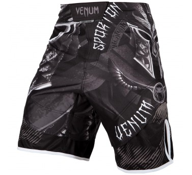 Venum Gladiator 3.0 Fightshorts - black/white – Bild 2
