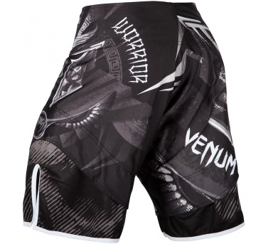 Venum Gladiator 3.0 Fightshorts - black/white – Bild 3