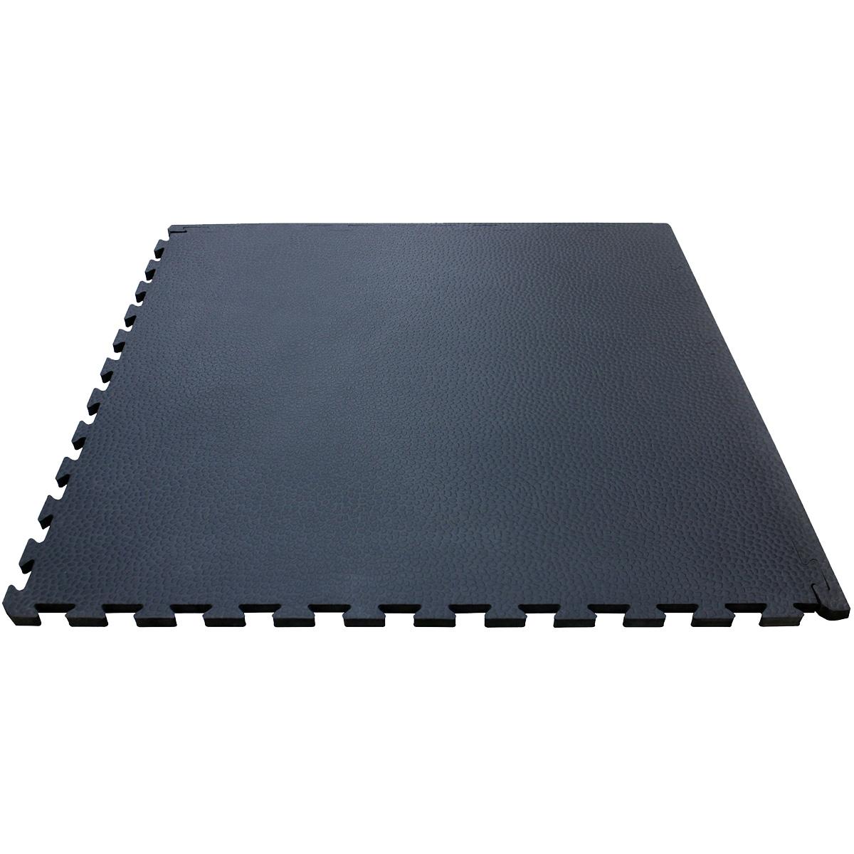 4Fighter Cross Stone Mat Bodenschutzmatte schwarz 100 x 100 x 1 cm