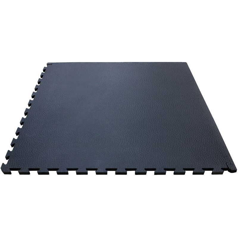 4Fighter Cross Stone Mat alfombrilla negra 100 x 100 x 1 cm – Bild 1