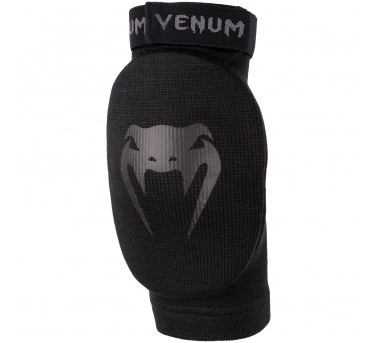 Venum Kontact Elbow Protector forThai boxing and MMA - Cotton black/black – image 1