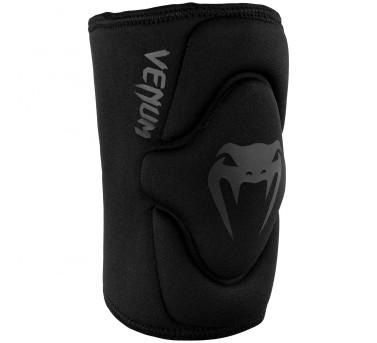 Venum Kontact Gel Knee Pad  Neopren-Gel MMA / Muay Thai Boxen - Black/Black – image 1