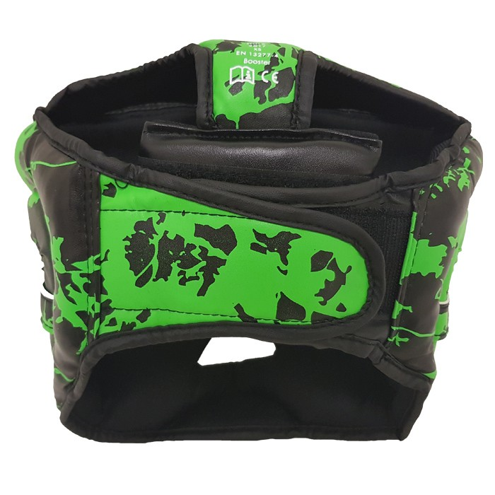 Booster Sparring Head Protection Training Head Protection for Children - Marble Green – image 3