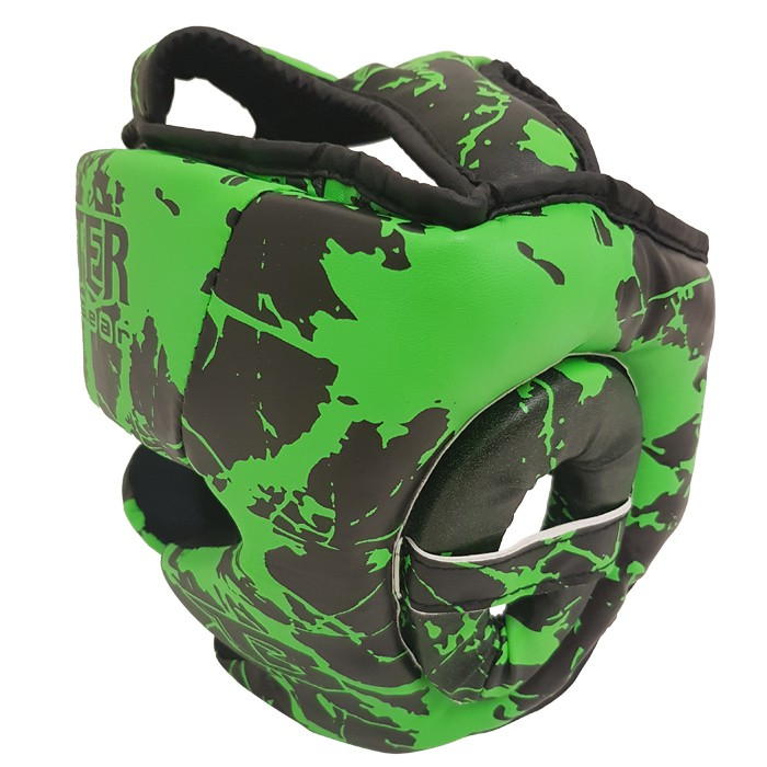 Booster Sparring Head Protection Training Head Protection for Children - Marble Green – image 2