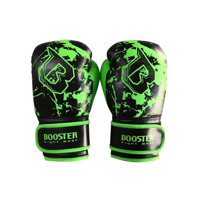 Booster BG Youth Marble Green Boxing Gloves Black-Green marbled – image 1