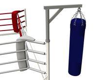4Fighter Floor Ring Boxsack Konsole / Boxsackhalterung für Bodenring 001