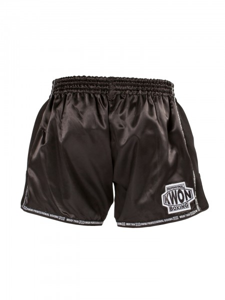 KWON Low Waist Muay Thai Shorts black – image 2