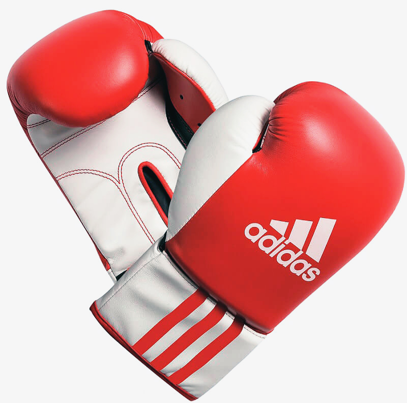 Adidas ROOKIE-2 Boxhandschuhe in rot