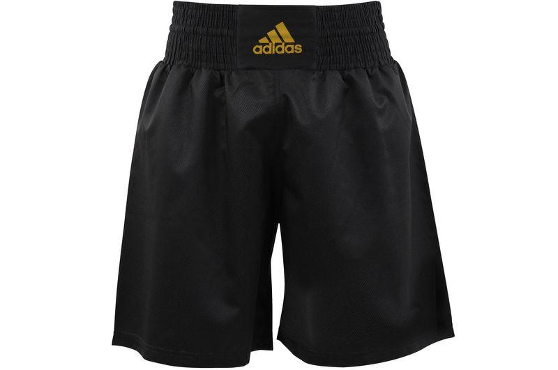 Adidas Multi Boxing Short schwarz/gold – Bild 1