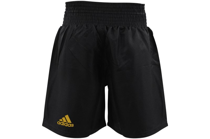 Adidas Multi Boxing Short schwarz/gold – Bild 2