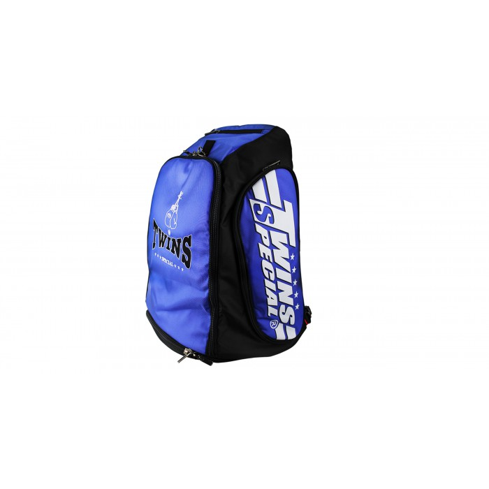 Twins fitness bag / backpack with print CBBT-2 blue – image 2