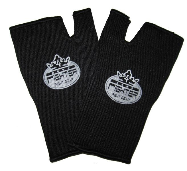 4Fighter INNER GLOVES black with innovativ Logo