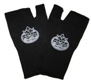 4Fighter guantes al interior negro con logotipo