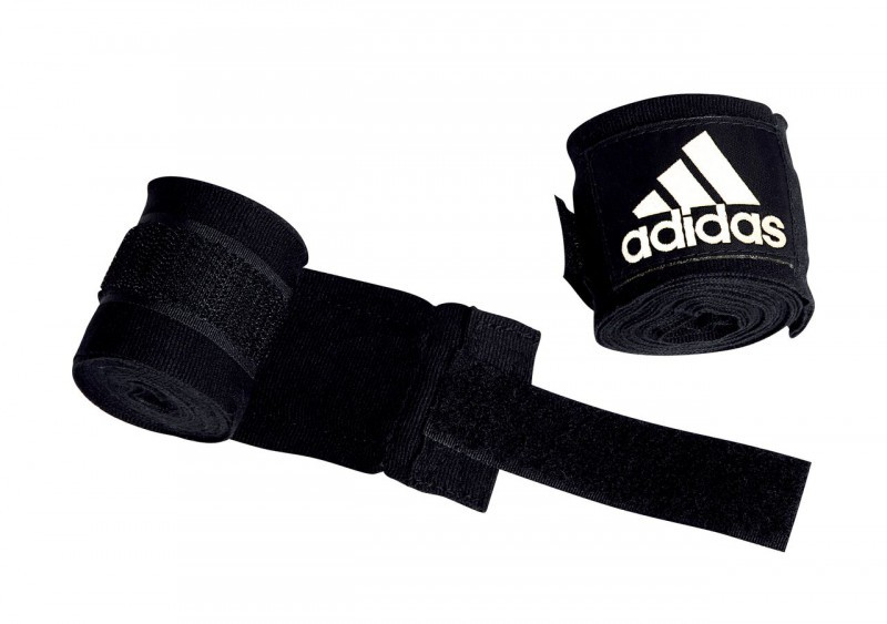 Adidas Hand Wraps 5.7 cm x 4.5 m in Black according to the new AIBA Guidelines – image 1