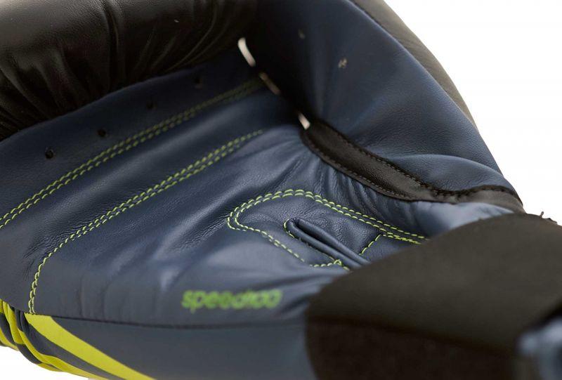 Adidas Speed 100 en negro / amarillo solar – Bild 3