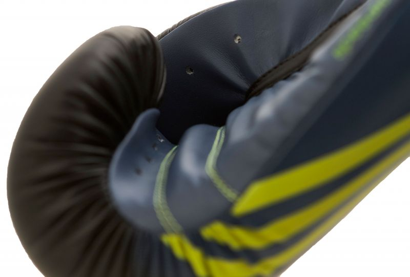 Adidas Speed 100 en negro / amarillo solar – Bild 4