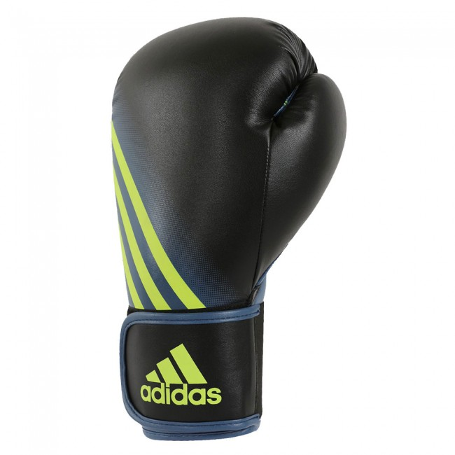 Speed 100 Boxing Gloves in black / solar yellow – image 2