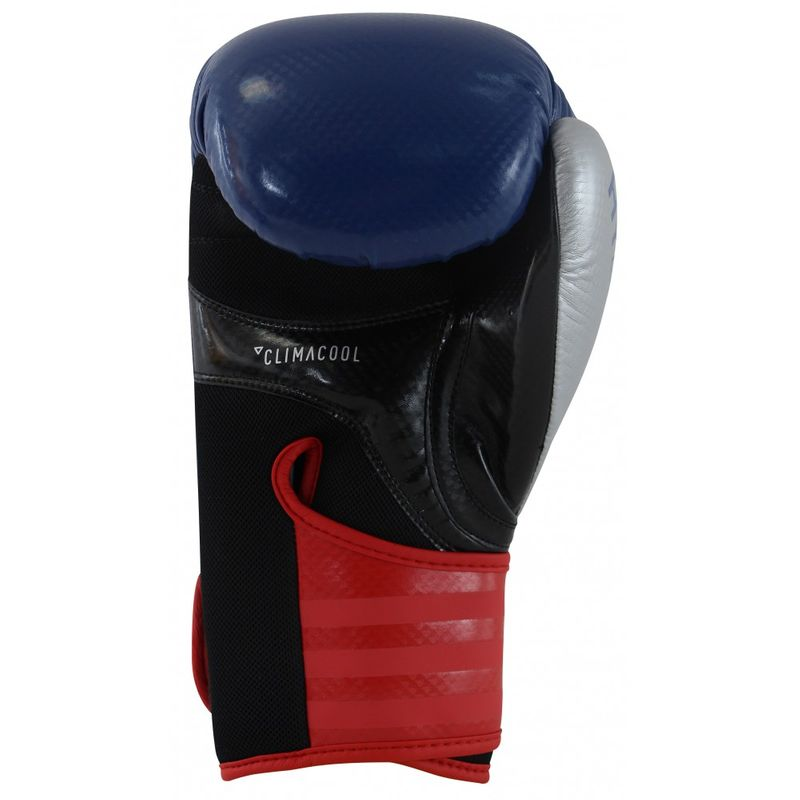 Adidas Hybrid 75 boxing gloves Maya carbon Look in blue / red / silver – image 3