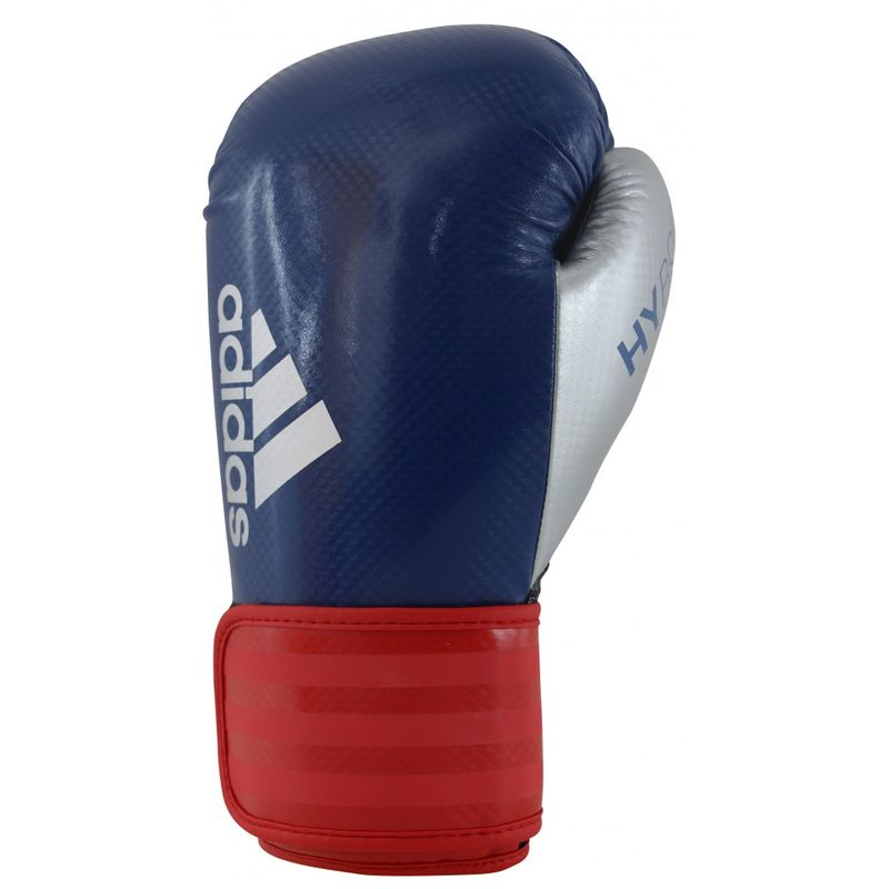 Adidas Hybrid 75 boxing gloves Maya carbon Look in blue / red / silver – image 2