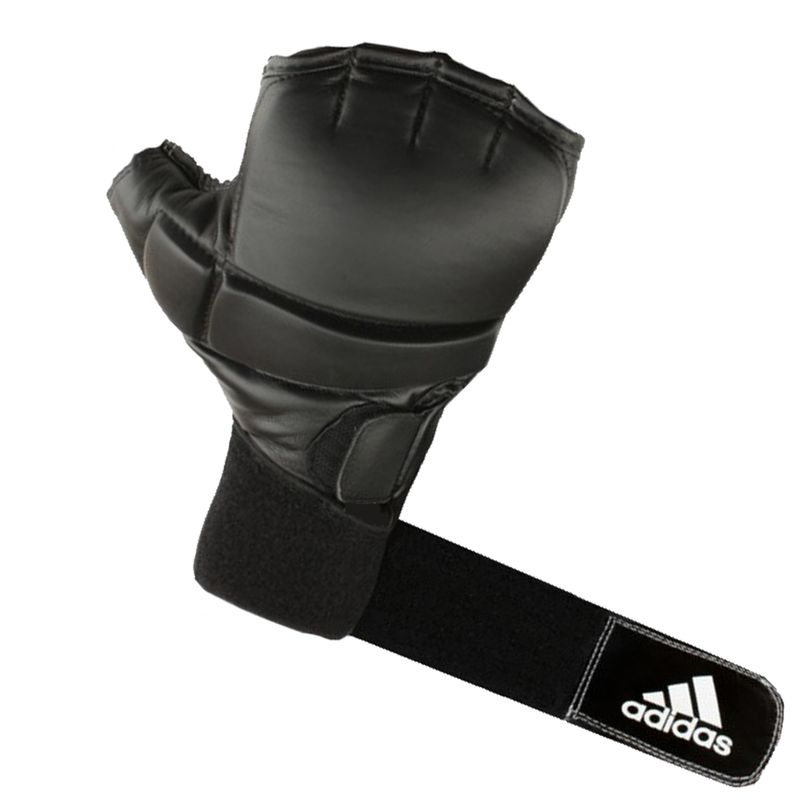 Adidas Speed Gel Bag Glove in schwarz/weiß – Bild 3