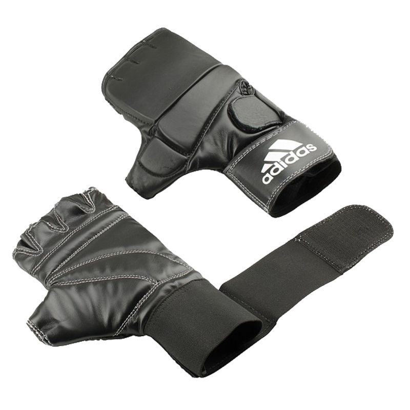 Adidas Speed Gel Bag Glove in schwarz/weiß – Bild 1