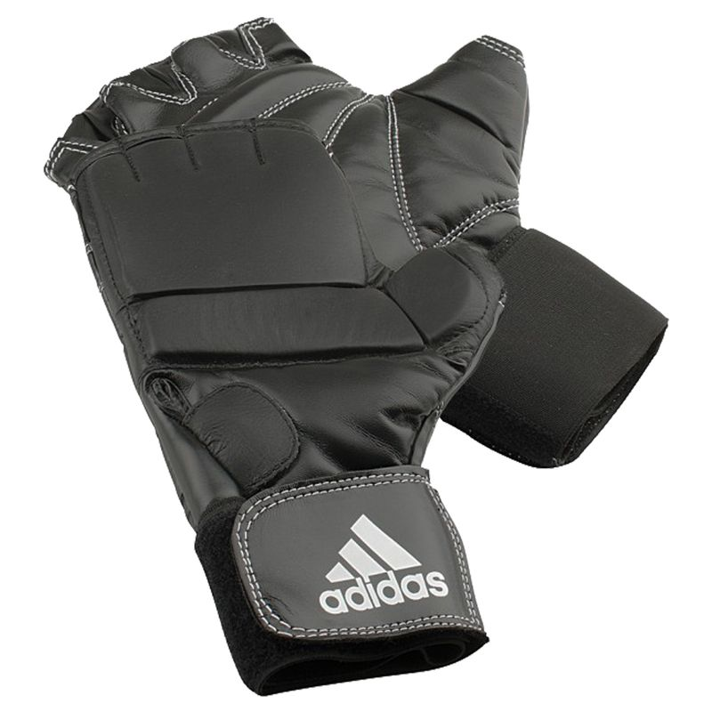 Guante Adidas Speed Gel Bag en negro / blanco – Bild 2