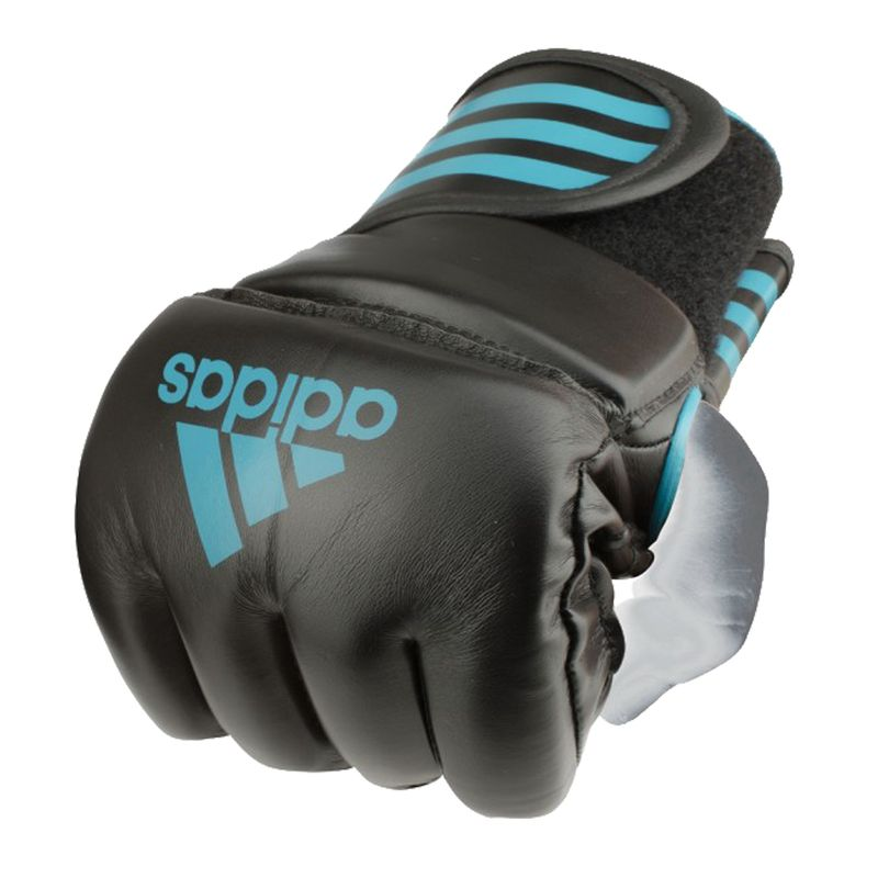 Adidas Grappling Training Glove Black / Solar Blue – image 3