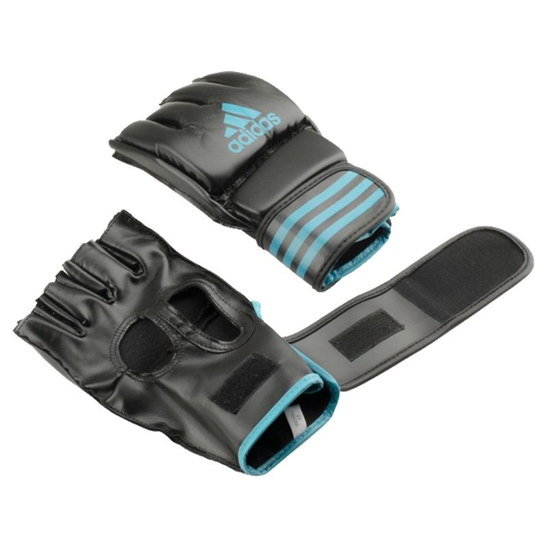 Adidas Grappling Training Glove Black / Solar Blue – image 5