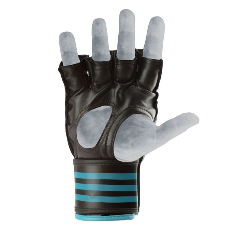 Adidas Grappling Training Glove Black / Solar Blue – image 4