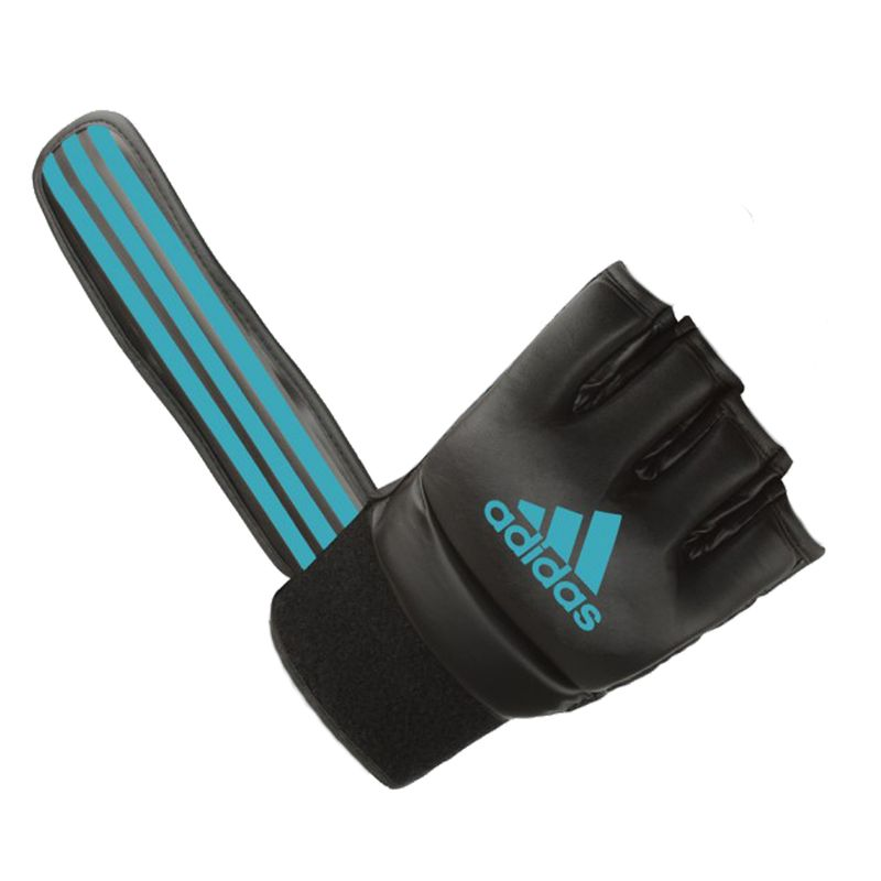 Adidas Grappling Training Glove Black / Solar Blue – image 6