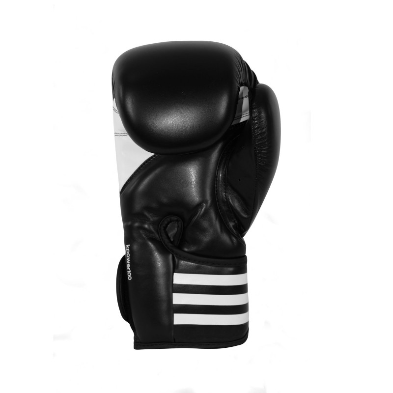 Adidas K Power 100 boxing gloves in black / white – image 3