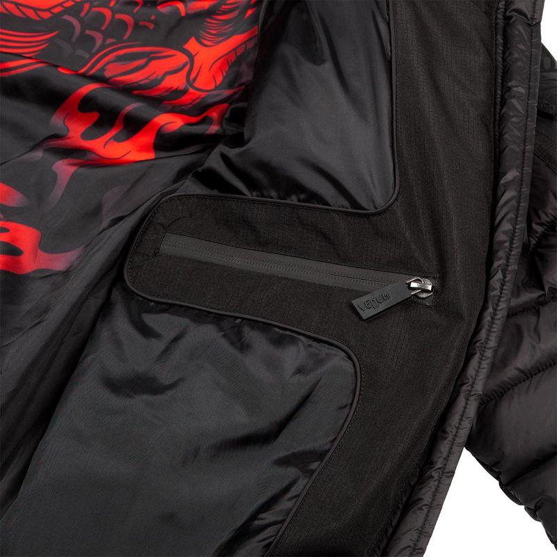 Venum Elite 2.0 down jacket black / black / red – image 15