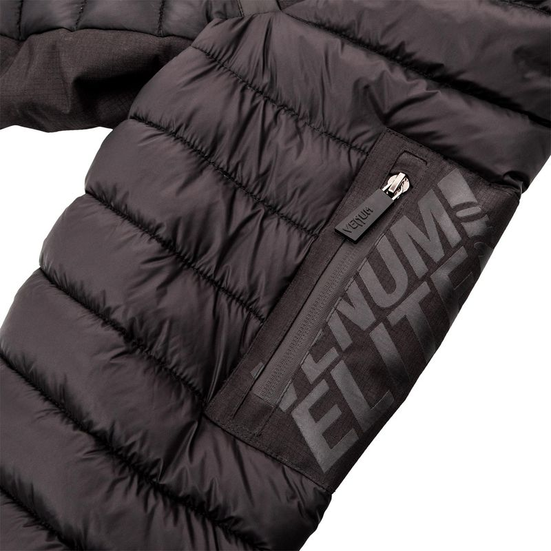 Venum Elite 2.0 Daunenjacke schwarz/schwarz/rot – Bild 10