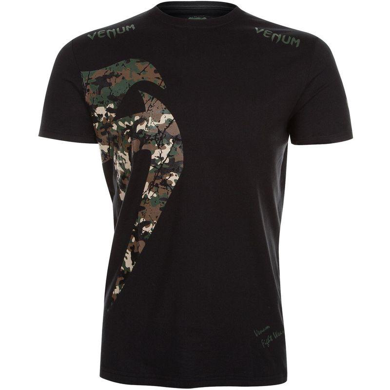 Venum Original Giant T-Shirt - black / Jungle camo