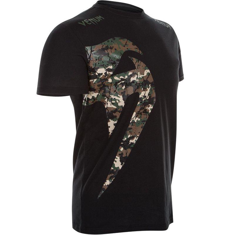Venum Original Giant T-Shirt - schwarz / Jungle camo – Bild 2