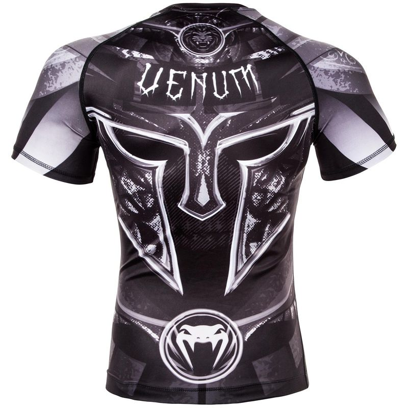 Venum Gladiator 3.0 Rashguard - Black / White - Short Sleeve – image 4