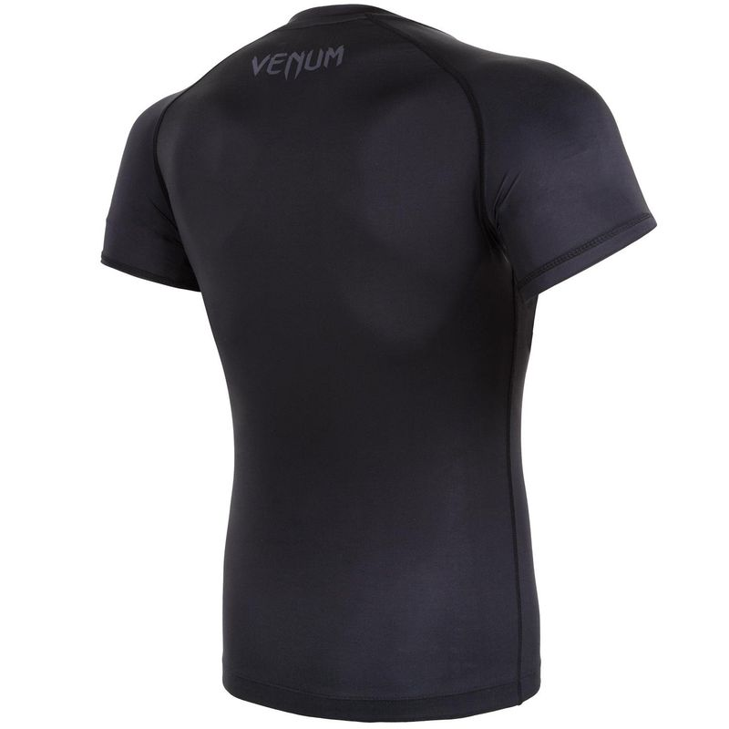 Venum Contender 3.0 Kompression T-Shirt -  schwarz/grau - Kurzarm – Bild 4